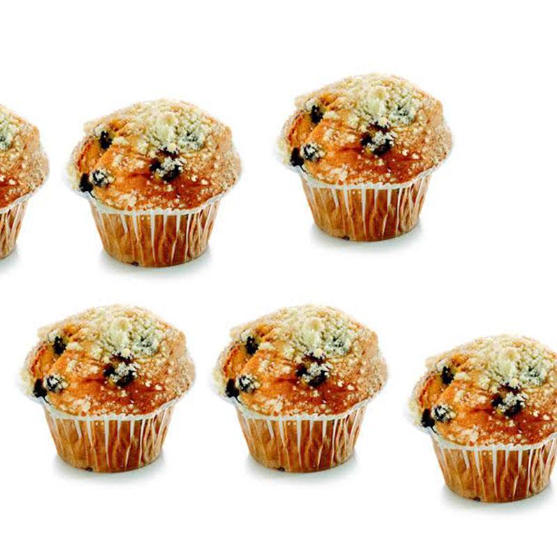 Muffin con arándanos